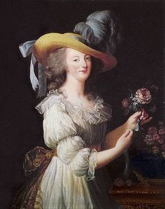 Scala Regia: Hameau de la Reine --Marie Antoinette dressed as a shepherdess.