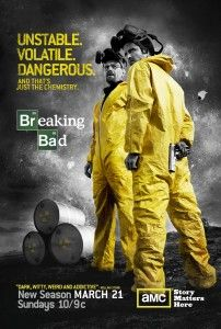 Are yellow safety suits in style this year because of Breaking Bad? Best TV Series, Drama Breaking Bad at the 2014 Golden Globe Award Show. Breaking Bad 3, Affiche Breaking Bad, Breaking Bad Tattoo, Breaking Bad Tv Series, Breaking Bad Poster, Breaking Bad Seasons, Walter White, Image Internet, Drama