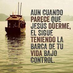 Dios esta en control en mi vida