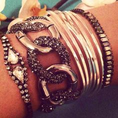 #chloeandisabel #armswag #stackyourstyle #jewelry     http://www.chloeandisabel.com/boutique/elizabethshamooni