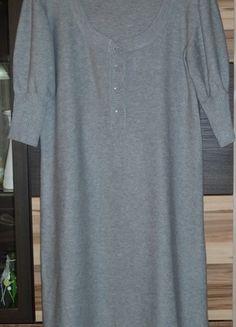 f0dc151370 Strickkleid mit Rundhalsausschnitt in grau, Gr. 36. Welches Unternehmen ·  Kleiderkreisel