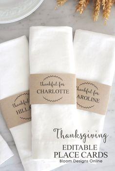 Great Ideas — 18 Thanksgiving Dinner Ideas!