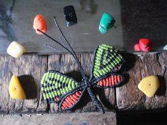 prendedor mariposa