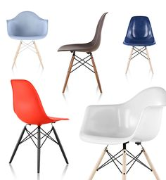 Eames Shell Chairs | Modern Dining at SmartFurniture.com
