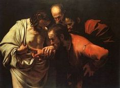 One of my favorite... Caravaggio - Doubting Thomas