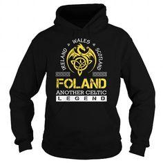 I Love FOLAND Legend - FOLAND Last Name, Surname T-Shirt Shirts & Tees