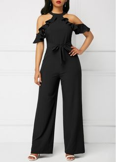 Sexy Jumpsuits and Rompers For Club, Evening Cocktail Party Jumpsuit Pattern, Lace Jumpsuit, Evening Dresses Plus Size, Plus Size Dresses, African Fashion Dresses, Fashion Outfits, Clubwear For Women, Pants For Women, Clothes For Women