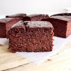 Double Chocolate Protein Brownies #healthy #dessert #recipe #protein #chocolate #brownie