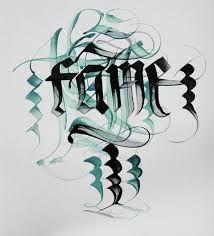 Extreme Calligraphy / the Labelmaker by Jordan Jelev, mobile via Behance Graffiti Lettering Fonts, Hand Lettering Fonts, Typography, Ink Pen Art, Calligraphy Letters, Penmanship, Letter Art, Handwriting, Artsy Fartsy