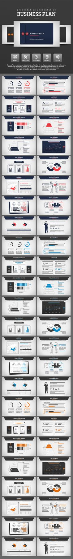 Business Plan PowerPoint Presentation Template #design #slides Download: http://graphicriver.net/item/business-plan/14119538?ref=ksioks