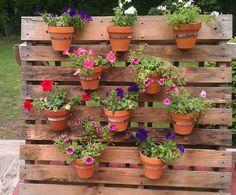 My own pallet planter