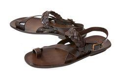 Enrico Men's Leather Sandals