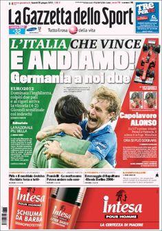 Prensa deportiva del 25 de junio 2012 | discutivo.com