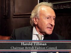 Harold Tilman talking Hilfiger   ©Franklynlane