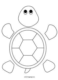turtle template for preschool – Tiere Felt Turtle, Sea Turtle Art, Turtle Coloring Pages, Animal Coloring Pages, Coloring Sheets, Turtle Crafts, Felt Crafts Patterns, Turtle Pattern, Sea Crafts