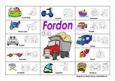 Mariaslekrum - Pratkartor. Learn Swedish, Swedish Language, Learn English Grammar, Preschool Themes, Kindergarten, Activities, Education, Learning, Sign Language