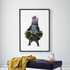 Fredag = Festdag! Bamsemums er helt klar er du? Tag en venn som du vil feste med og bli med i trekningen av denne flotte plakaten. Vinneren trekkes søndag kveld!