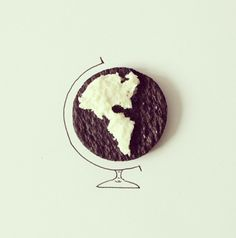 Artist Javier Perez creates inventive sketches from everyday objects *** the world is your oreo. Creative Illustration, Illustration Art, Performance Artistique, Everyday Objects, Cartography, Crayon, Whimsical, Art Photography, Artsy