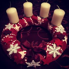 My advent wreath.