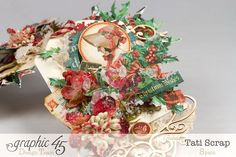 Tati,Tag Banner, Christmas Carol, Product by Graphic 45