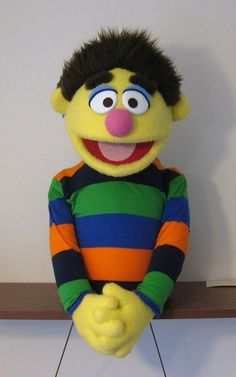 MarksCreatureShop - Muppet Style Puppet - Yellow Boy