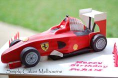 Ferrari Car Cake World Map App, Ferrari Car, F1, Birthday Cake, Cakes, Gallery, Kids, Collection, Young Children