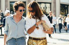 two women fashion editors