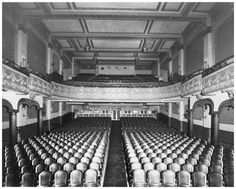 The inside of the Imperial, now Barrymore's, on Bank street, ca. It is said that the Imperial had 999 seats. Capital City, Basketball Court, Street, Walkway
