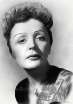 Edith Piaf by Ebn Misr Artist Painter Egypt