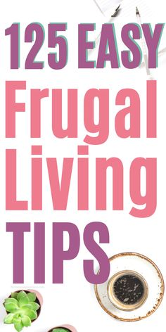 125 Frugal Living Tips to Save Money Fast Do you want to save more money? Are you struggling to cultivate frugal habits? Check out these 125 tips to save money on groceries, food, eating out, utilities and more! Best Money Saving Tips, Money Tips, Saving Money, Money Box, Savings Challenge, Money Saving Challenge, Frugal Living Tips, Frugal Tips, Save Money On Groceries