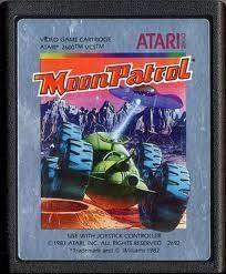 Moon Patrol - Atari 2600 Game
