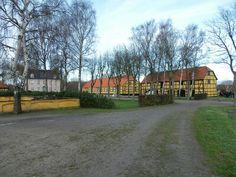 Bramslykke gods.v Nysted på Lolland.