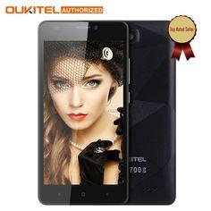 원래 oukitel c3 5.0 인치 휴대 전화 안드로이드 6.0 mt6580 쿼드 코어 1.3 천헤르쯔 5.0MP 1 그램 RAM 8 그램 ROM 듀얼 SIM 스마트 핸드폰