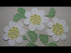 Вязание РОМАШКИ. Как вязать ромашку крючком - необычная ромашка - crochet daisies - YouTube