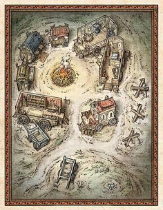 Image result for d&d map of underwater ruins