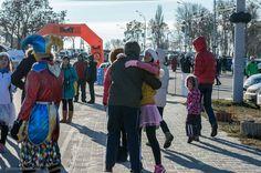 """В здоровом теле - здоровый дух!  Перед стартом желаем удачи! Марафон """"Йоль"""" 28 декабря 2014 года. Завершать год нужно именно так! (компания #SixtУкраина - партнер Marathon Club """"Kiev 42195"""")"""