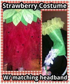 Easy easy easy  diy Halloween costume ...   SUPPLIES: * RIBBON  * TULLE * FELT  * TEARDROP BEADS  (@ Jo Ann fabrics )   * RUFFLED TRIM  * GLITTER PUFF PAINT * GLUE GUN  * HEADBAND * DAISEY FLOWER I made mine to fit my 16 mo old right under the arms like a tube-top dress and simply made a tu-tu (there is a tutorial for the tu-tu on one of my boards that explains how to measure for your fabric and make it... I used ribbon instead of elastic so it could be more adjustable)  so mine really fit a…