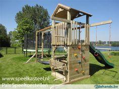 speelkasteel speeltoestel speeltuig speelhuis schommel