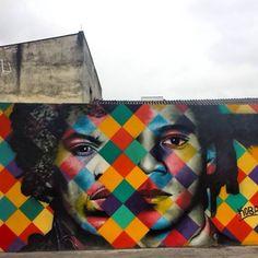 "Artist: Eduardo #Kobra - more #streetart @ www.streetart.nl    ""Pinheiros - São Paulo """