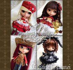 Chang Hsiu Mei's Blythe Pattern VOL.1 by Peapoddoll on Etsy