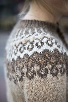 pattern by Linnea Ornstein Ravelry: Thingvellir pattern by Linnea OrnsteinRavelry: Thingvellir pattern by Linnea Ornstein Fair Isle Knitting Patterns, Fair Isle Pattern, Knitting Designs, Knit Patterns, Knitting Projects, Vest Pattern, Wave Pattern, Icelandic Sweaters, Knit Or Crochet