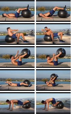 Top 10 Moves for abs/core. www.gymra.com/...
