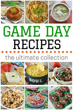 , and desserts, this is an ultimate collection of over 100 game day ...