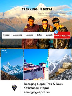 Trekking in Nepal is an adventure activity to make your Nepal travel more memorable with Emerging Nepal Trek & Tours.