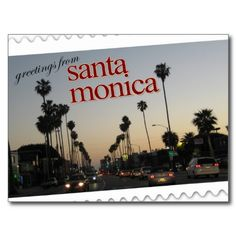 20 best greetings from california postcards images on pinterest greetings from santa monica california postcard m4hsunfo