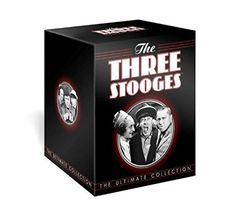 The Three Stooges: The Ultimate Collection - DVD | Box Set - This collection of the 190 Columbia Shorts starring the boys now includes 28 shorts made by Shemp Howard, Joe Besser and Joe Derita.