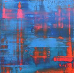 Gerhard Richter » Art » Paintings » Abstracts » Red-Blue-Green » 803-5