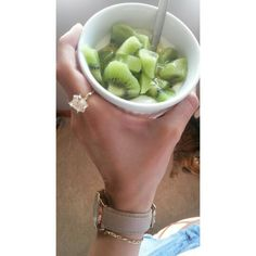Healthy snacks! Yoghurt and kiwi fruit #healthy #happy #fitness #blog #yummy  verymuchupshoes.wordpress.com