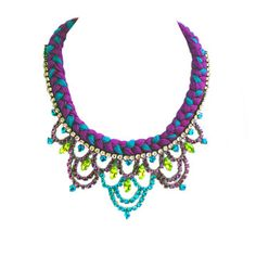 Malaga Necklace Autumn, £135, now featured on Fab.