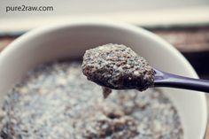 Chia Seed Tahini Pudding